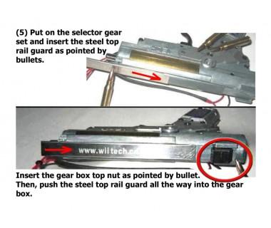 High Performance Ver.3 Gear Box (7mm), AK Series