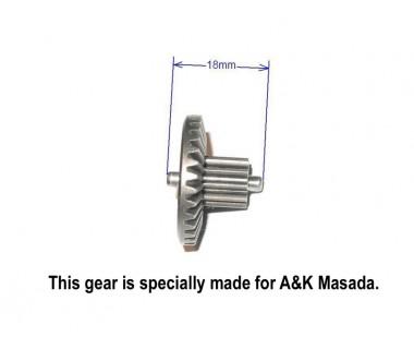 Hardening Extreme High Torque Gear Set for A&K Masada, Barrel length 455mm or less (32:1, 300%)
