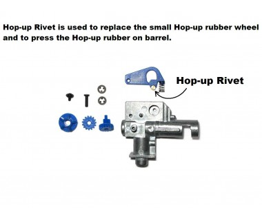 Hop up rivet