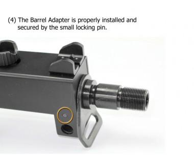 M11A1 (KSC) Barrel Adapter, - M14