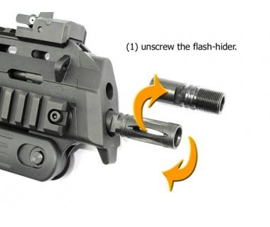 MP7 (T. Marui) Barrel Adapter, - M14