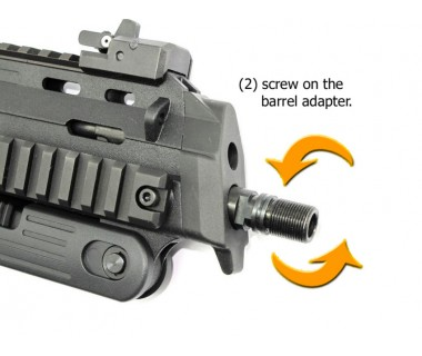 MP7 (T. Marui) Barrel Adapter, - M14