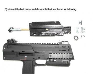 MP7 (T. Marui) Suppressor (USA) and Ø6.03 barrel set