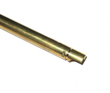 "M4 (T.Marui) Ø6.03 Copper Inner Barrel (345mm) for GBB 13.5"" barrel"