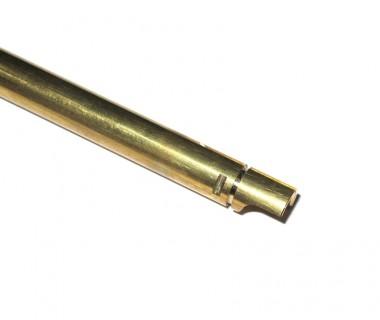 "M4 (T.Marui) Ø6.03 Copper Inner Barrel (370mm) for GBB 14.5"" barrel / 13.5"" + CQB Muzzle Brake"