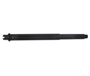 "M4 (T.Marui) 11.5"" Aluminium Fluted Outer Barrel (No gas block pin groove)"
