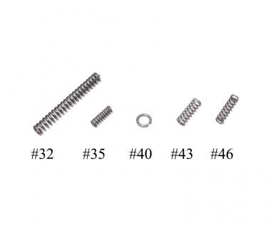 M4 (T.Marui) GBB Trigger box spring set #32 #35 #40 #43 #46