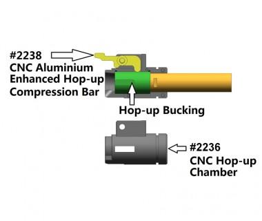 M4 (T.Marui) CNC Aluminium Enhanced Hop-up Compression Bar