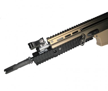 SCAR series (WE) CNC Tactical Extension Rail (Black)