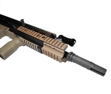 SCAR series (WE) CNC Tactical Extension Rail (Tan)