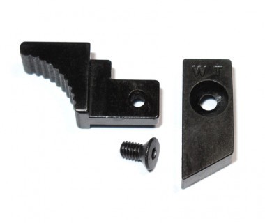 P90/TA2015 (WE) CNC Hardened Steel Trigger Case Latch (Part No.26, 27, 35)