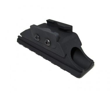 AK 74U (GHK) CNC Rear Sight Rail