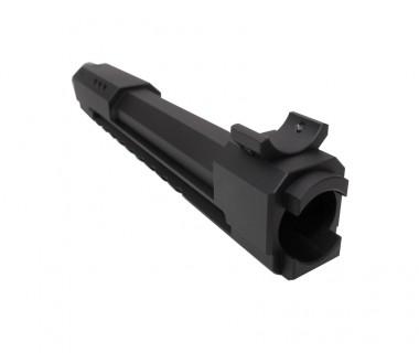 AKM (T.Marui GBB) CNC 6061 Aluminium M style Railed Gas Tube