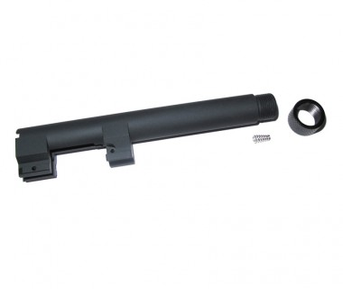 92F/M9A1 (KSC-System 7) Aluminium Tactical Outer Barrel (real steel thread)