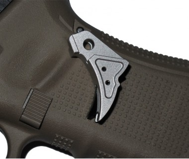 Glock Tactical Trigger A (Silver-Black) (T.Marui, WE)