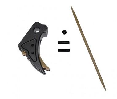 Glock Tactical Trigger A (Black-Gold) (T.Marui, WE)