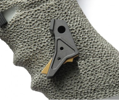 Glock Tactical Trigger B (Black-Gold) (T.Marui, WE)