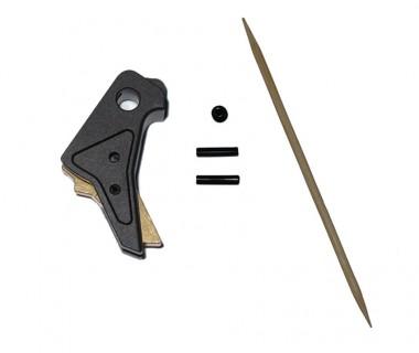 Glock Tactical Trigger B (Black-Gold) (T.Marui, WE)