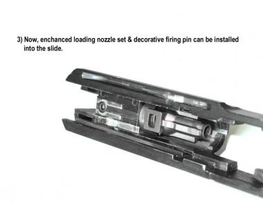 93R-II (KSC-System 7) CNC 6063 Aluminium Enhanced Loading Nozzle
