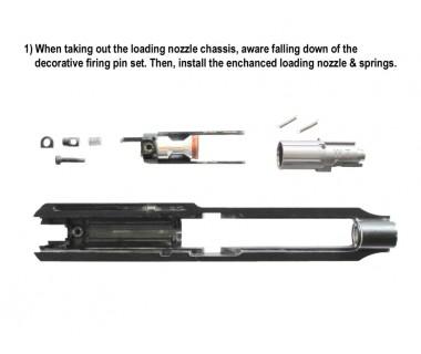 93R-II (KSC-System 7) CNC 6063 Aluminium Enhanced Loading Nozzle (Japan version)