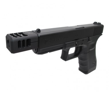 Glock 19 (T.Marui) CNC Steel Tactical Outer Barrel (-M14)