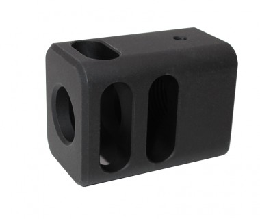 Glock (T.Marui) CNC Aluminium 4-Port M-style Comp
