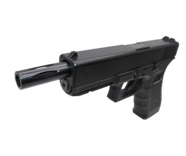 Glock 17 Gen4 (T.Marui) CNC Steel 3-Cut Extended Outer Barrel