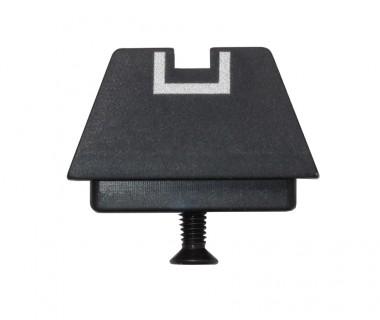 Glock series (T.Marui, WE) CNC Aluminium High Rear Sight