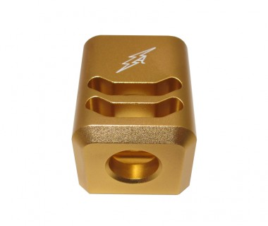 Glock (T.Marui) CNC Aluminium 2-Cut A-style Comp Gold