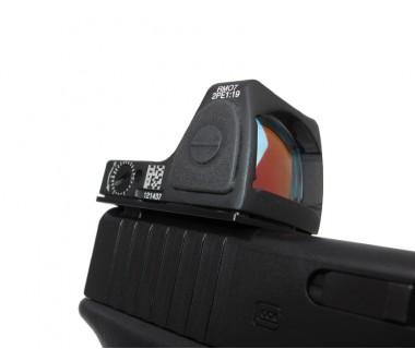 Glock 17 Gen4, 17, 19, 34 (T.Marui, WE) CNC Aluminium RMR Slim Mount