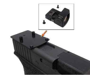 Glock series (T.Marui, WE) CNC Aluminium RMR Slim Mount