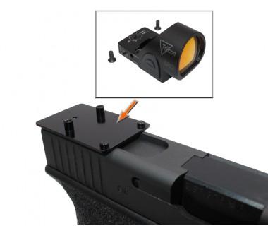 Glock series (T.Marui, WE) CNC Aluminium SRO Slim Mount