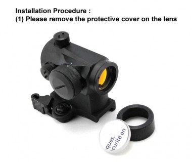 BB Proof Lens, Aimpoint Micro Red Dot Sight