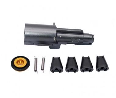 M11A1 (KSC-Full Open System 7) CNC 7075-T6 AluminiumTop Gas Loading Nozzle set