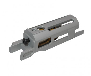 1911 (T.Marui) CNC 6063 Axis S-recoil Silver Blowback Housing