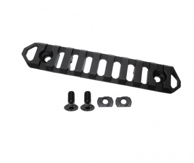 9 Slots Lite Rail (M-LOK) CNC 6063 Aluminium